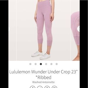 ❌sold on cp❌Lululemon tights